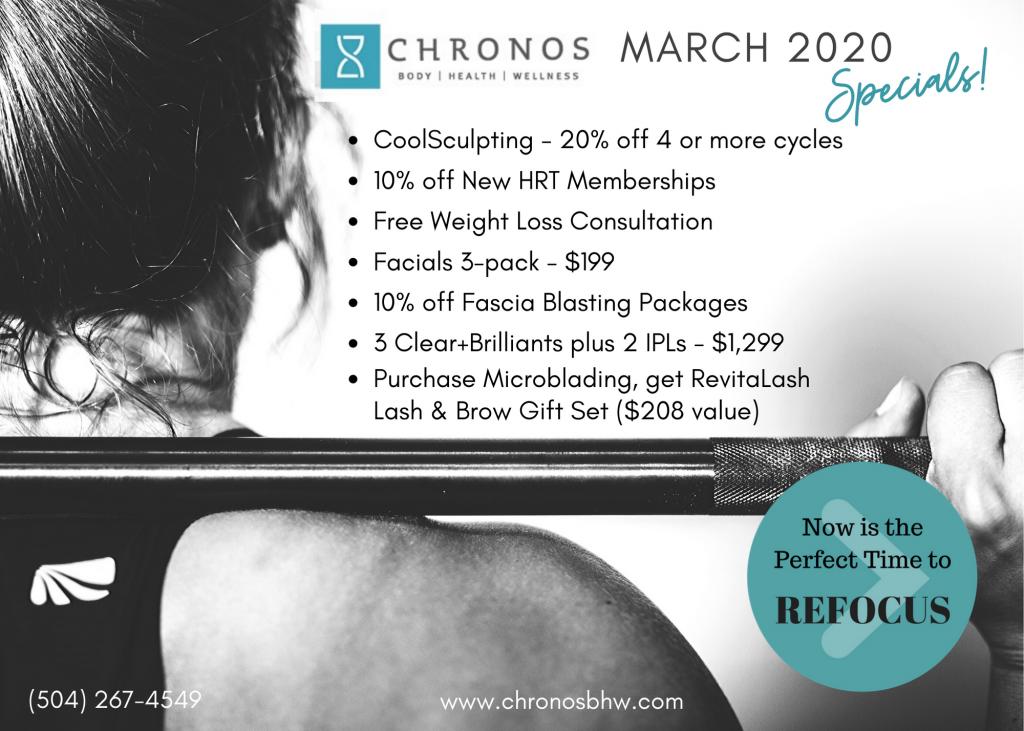 Chronos March Specials